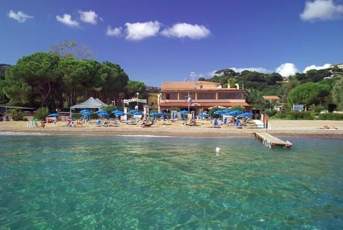 Isola d'Elba: hotel direttamente sul mare