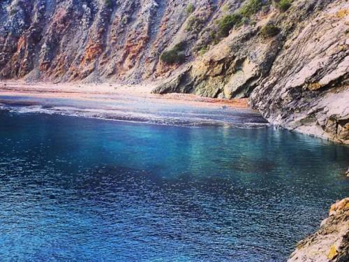 Spiaggia di fetovaia all'isola d'elba
